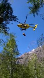 Photo of Val Seriana, escursionista recuperato verso il rifugio Curò