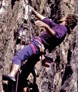 "Photo of ""King of Kanzi"": una climbing marathon anni 80 con Steve House"