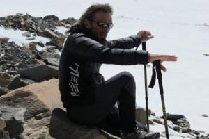 """Photo of Marco Zaffaroni racconta il terremoto: """"come bandiere, attaccati alle piccozze"""""""