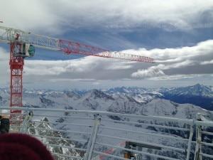 Photo of (English) Monte Bianco: in anteprima le foto delle nuove funivie e del cantiere a 3466m