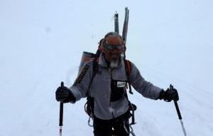 Photo of Marco Zaffaroni all'Everest con Roberto Boscato