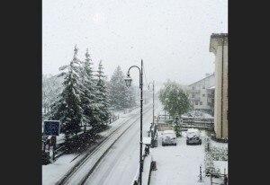 Photo of Neve di maggio sulle Alpi