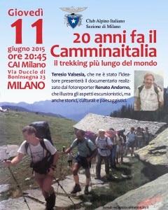 """Photo of Il trekking più lungo del mondo, Teresio Valsesia e il """"Camminaitalia"""" al Cai Milano"""