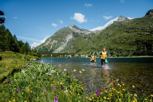 Photo of Trail e nuoto in alta quota: l'11 luglio va in scena l'Engadin swimrun