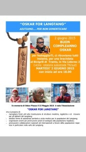 """Photo of """"Oskar for Langtang"""", un'associazione per il Nepal in memoria di Oskar Piazza"""