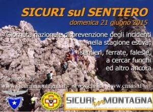 """Photo of Domenica 21 giugno giornata """"Sicuri sul sentiero"""": formazione in tutta Italia"""