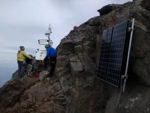 Photo of Monte Emilius, installata stazione di misura della qualità dell'aria
