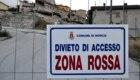 Castelluccio, la cancellata della Zona Rossa