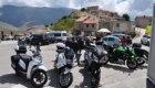 Castelluccio, turisti e rovine