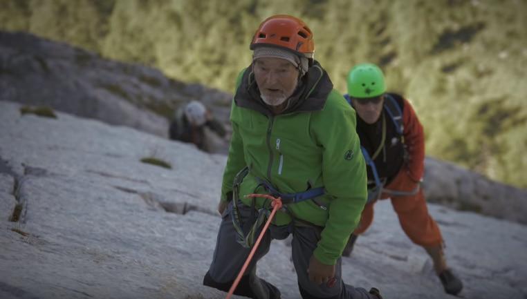 Photo of La voglia di scalare non ha età: il video di Marcel Remy (94 anni) su le Miroir de l'Argentine