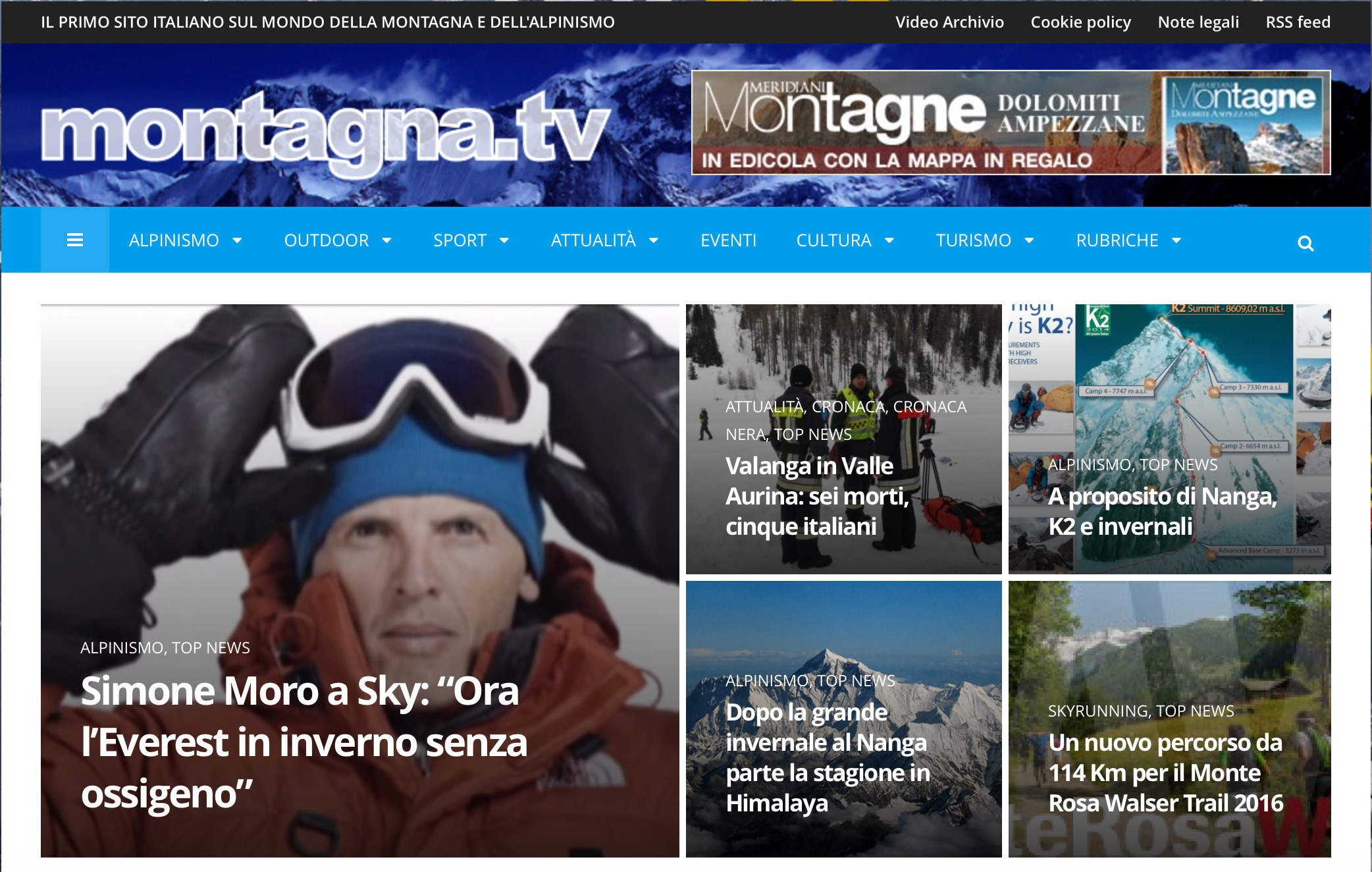 Photo of [:it]Montagna.tv si rinnova![:]