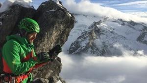 Photo of Val Bondasca, concatenamento invernale delle Sciore chiuso da Fabio Salini e Davide Codega