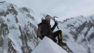 Photo of Simone Moro e Tamara Lunger sul Ganalo Peak
