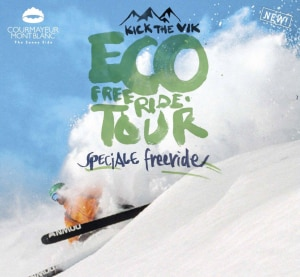 Photo of Courmayeur: al via l'eco-gara Kick The Vik Eco Freeride Tour