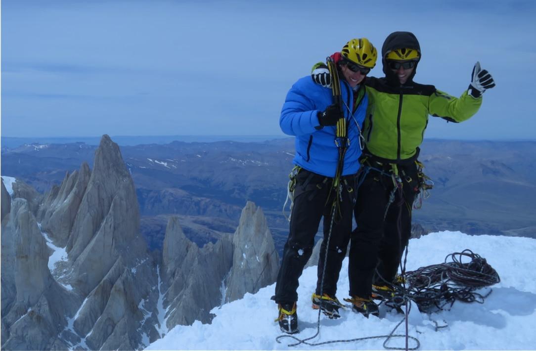 François Cazzanelli e Marco Farina. Photo courtesy Chamlang Expédition