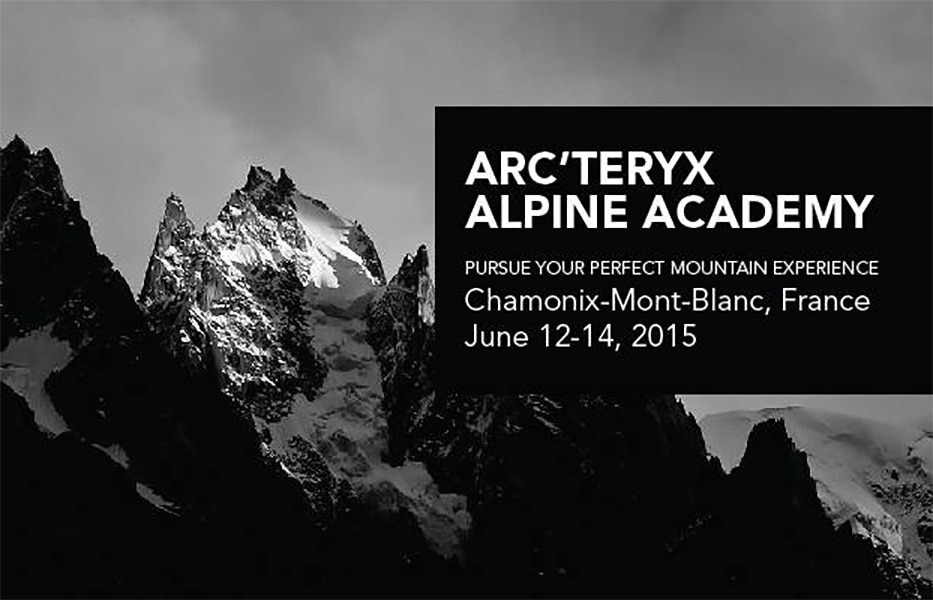Photo of A Chamonix arriva l'Arc'teryx Alpine Academy 2016