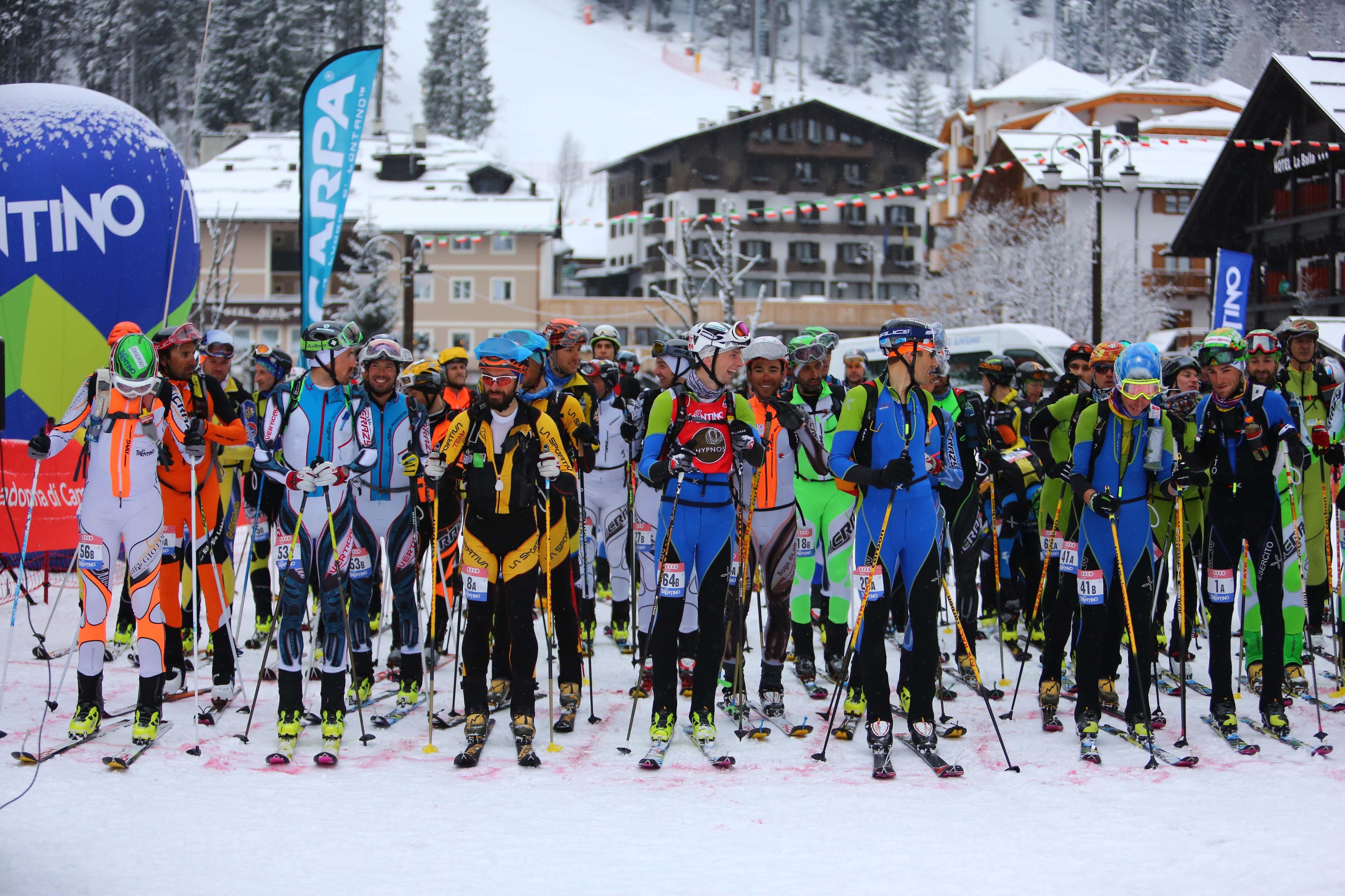Photo of Sabato la 42a edizione della Ski Alp Race Dolomiti di Brenta