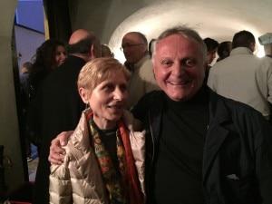 Agostino Da Polenza con Goretta