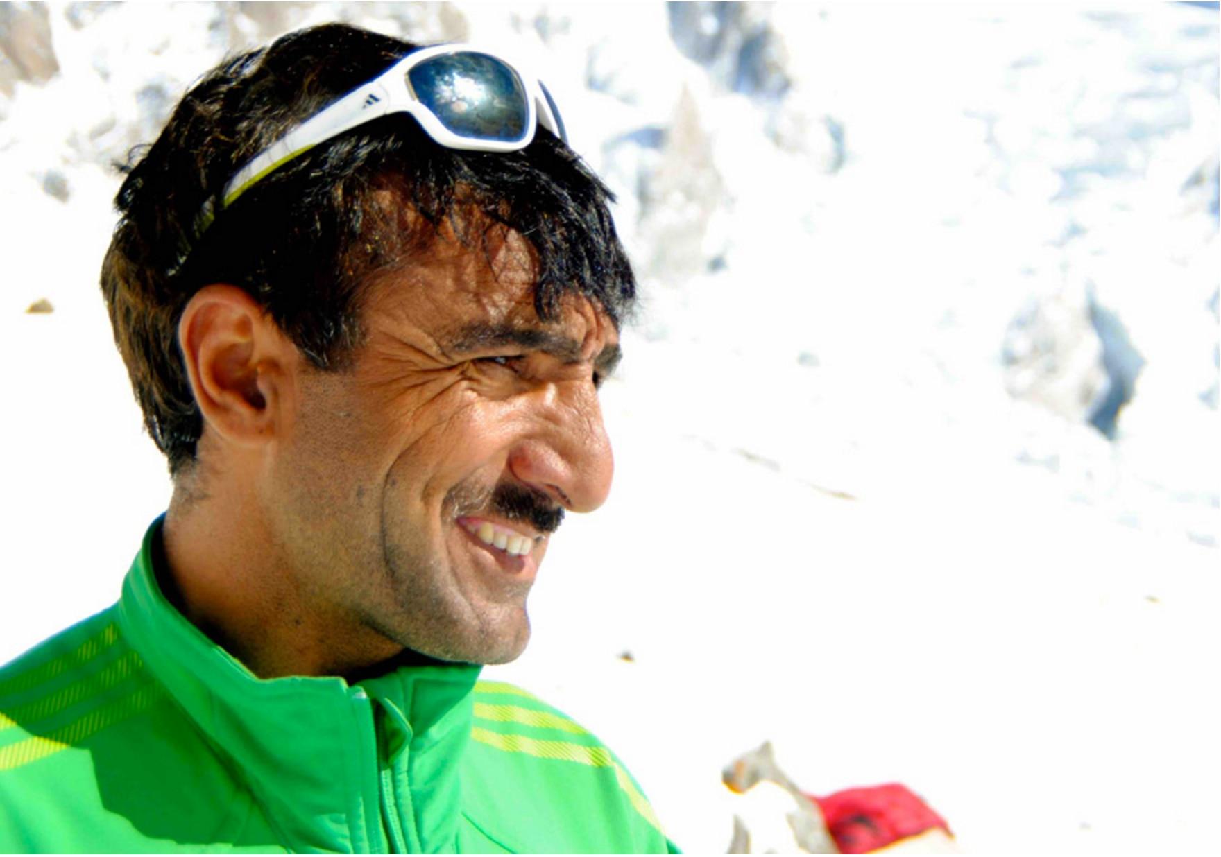 "Photo of Ali Sadpara, l'""eroe"" del Nanga parte per il Makalu e il Manaslu"