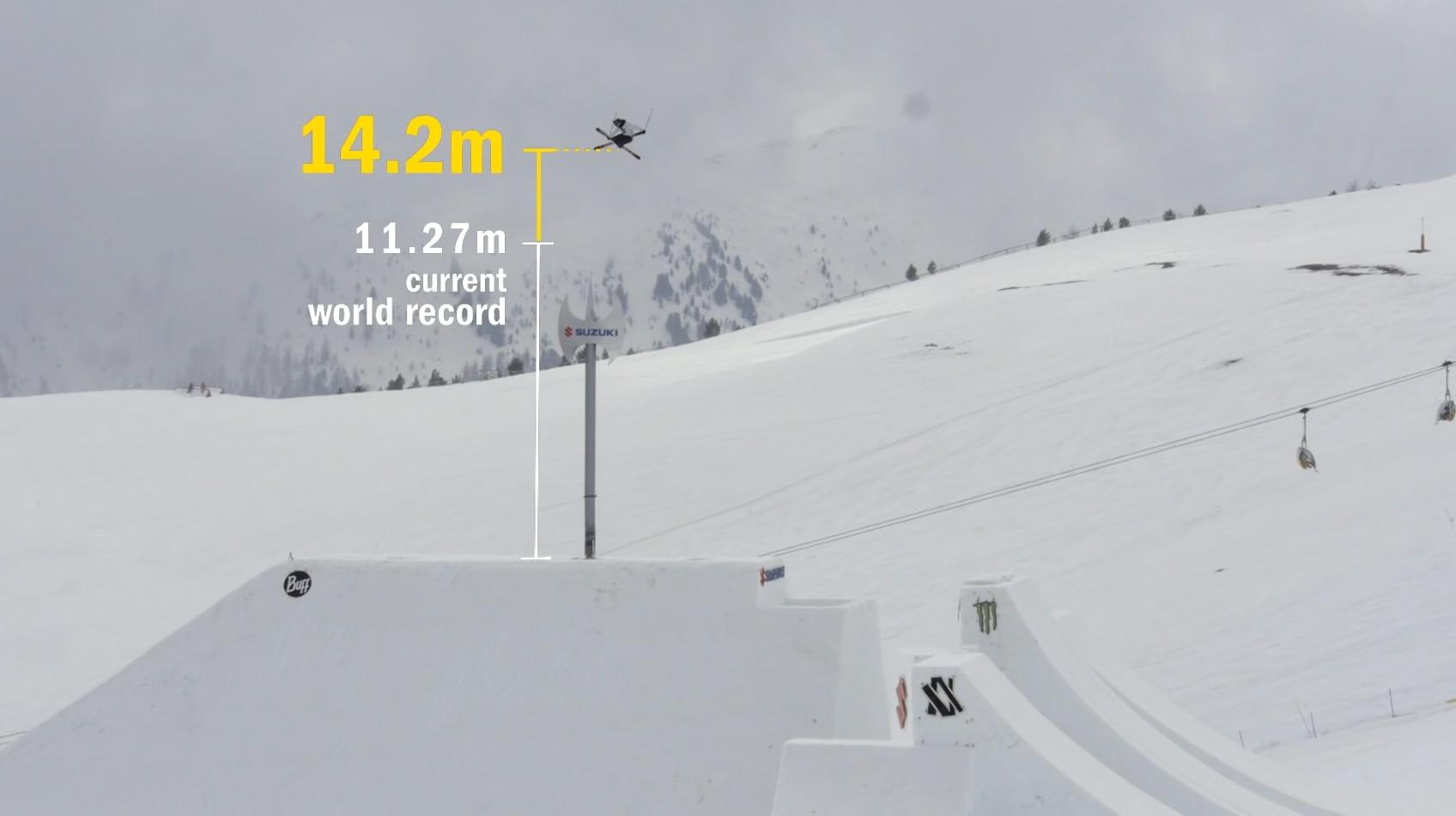 Photo of Nuovo record di altezza per il salto con gli sci