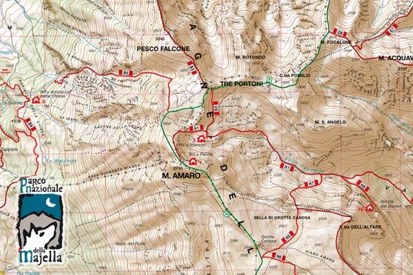 Photo of La nuova carta escursionistica del Parco Nazionale della Majella