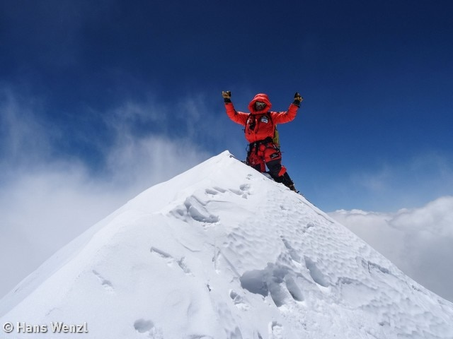 Photo of Makalu, la vetta di Ferran Latorre