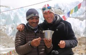 Marco Confortola con Ali Sadparà