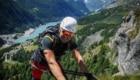 Ferrata Bethaz Bovard, Valgrisenche, 17 Luglio 2016 - Con Umberto Bado (Guide Alpine Torino). Foto Matteo Filippini