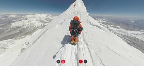 Photo of Scalate anche voi l'Everest a 360°