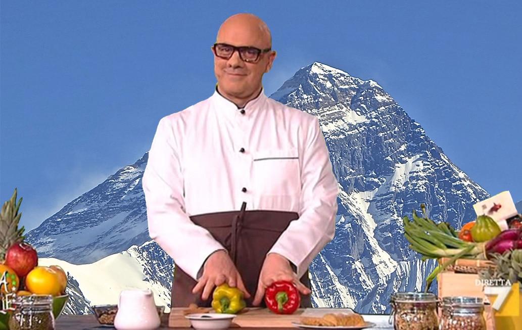 Photo of Alimentarsi sull'Everest. Vegan o una fetta di speck?