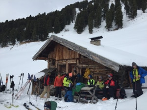 Ristoro finale nella Val de Duron