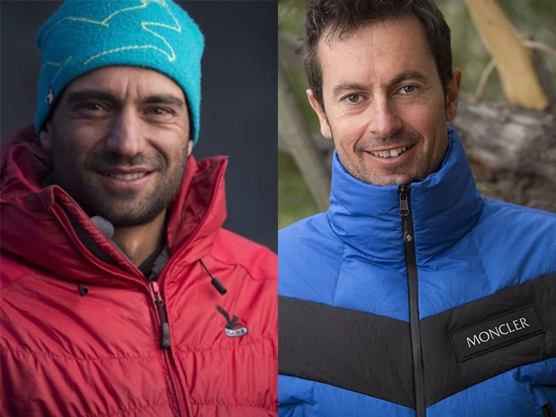 Photo of Daniele Nardi e Simone Origone insieme nella pianura pontina a parlare di montagna