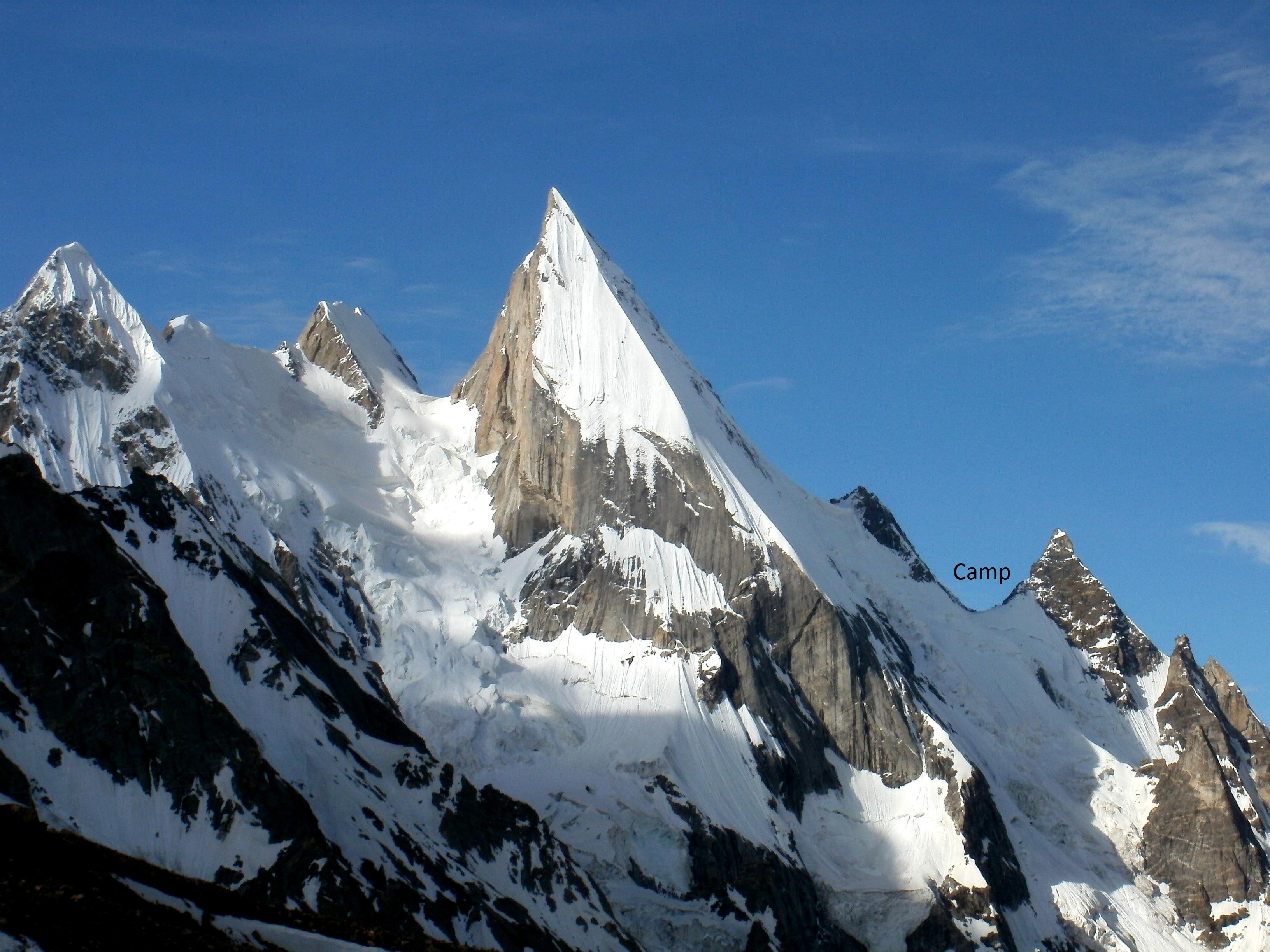 Photo of Leonardo Comelli riposerà sul Laila Peak