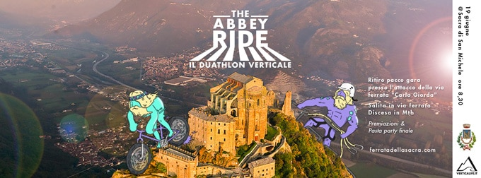 Photo of The Abbey Ride, il duathlon verticale in Val di Susa