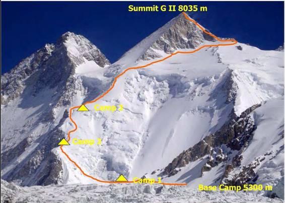 Photo of Spedizione congiunta pakistana-francese al Gasherbrum II
