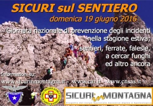 Photo of Sicuri sul sentiero, una giornata per imparare a prevenire gli incidenti in montagna