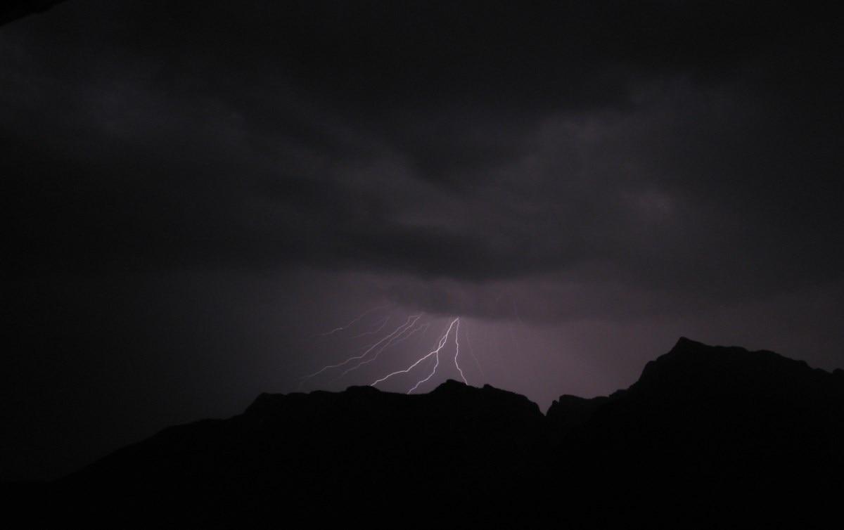 Photo of Fulmini e temporali in montagna, cosa fare