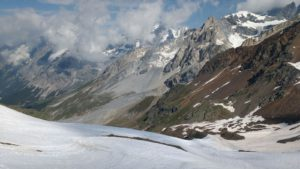 La Val Zebru dal passo