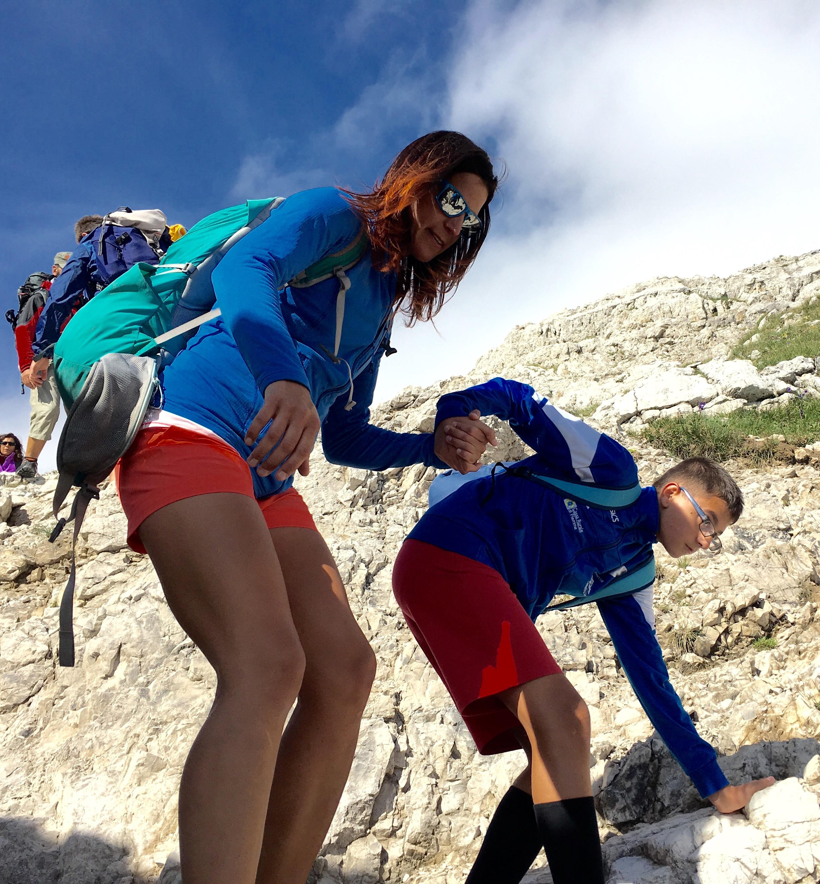 Photo of Le Dolomiti per tutti: sulla vetta di Cima Brenta per mano a Tamara Lunger