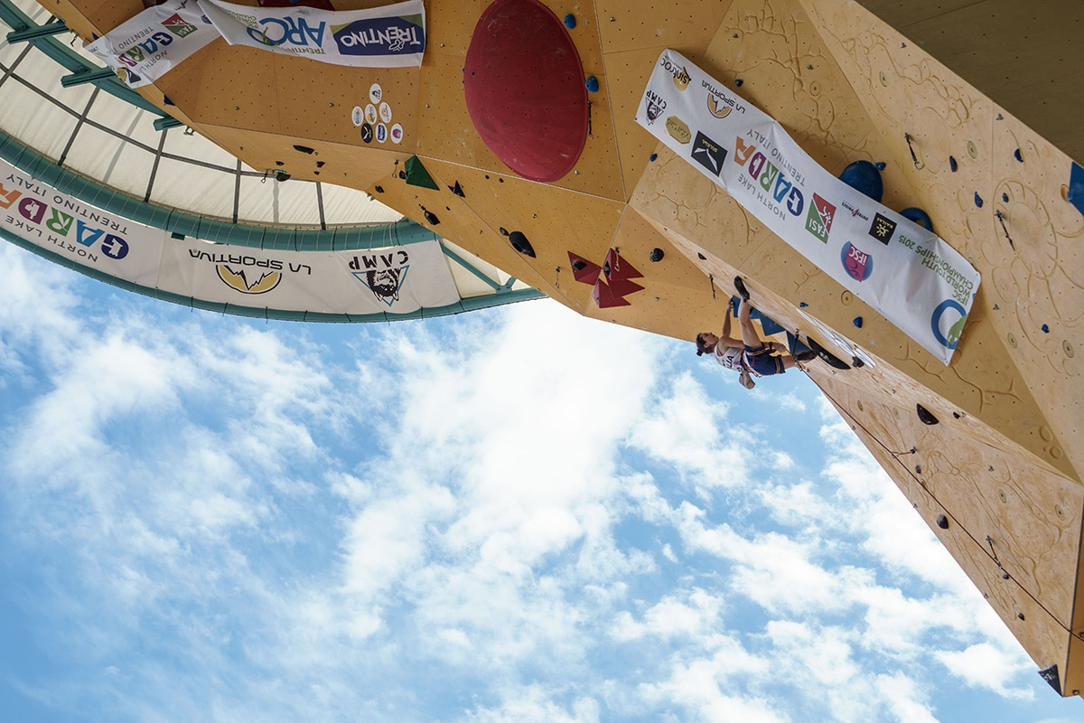Photo of Ad Arco l'elite dell'arrampicata con il Rock Master e la Coppa del Mondo
