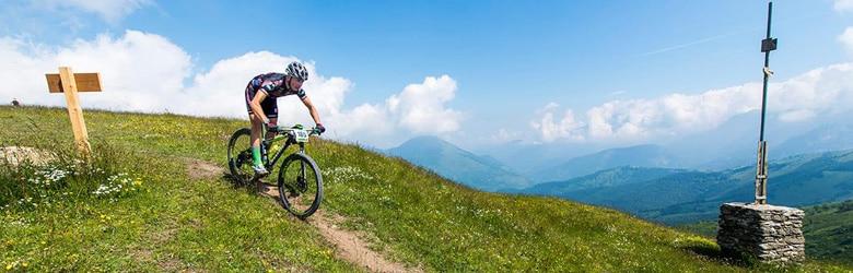 Photo of Anche Claudio Chiappucci alla cronoscalata di bike da Limone Piemonte a Sanremo
