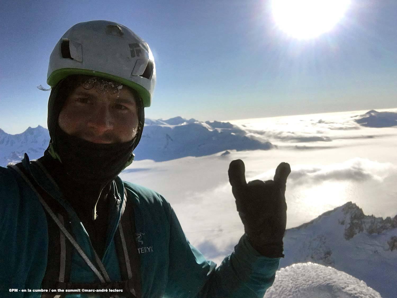 Photo of Marc-André Leclerc realizza la prima solitaria invernale sulla Torre Egger