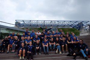 La squadra azzurra. Photo courtesy F.A.S.I