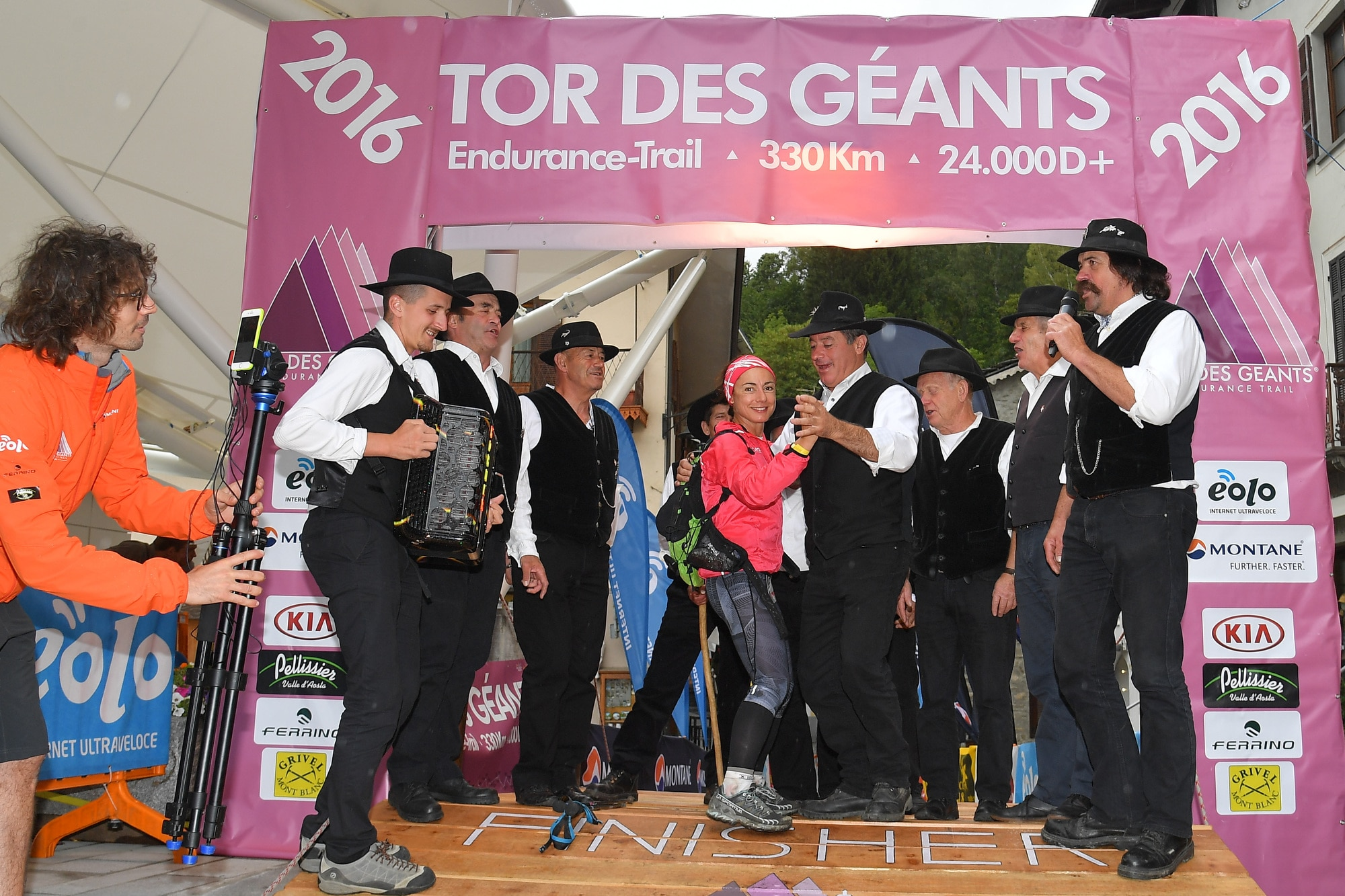 Photo of Maria Samerjian completa il podio femminile del Tor des Gèants