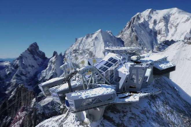 Skyway Monte Bianco è La Location Più Spettacolare D Italia