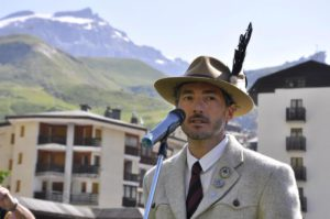 Nella foto Gerard Ottavio, Presidente guide del Cervino. Photo @ ufficio stampa Comune di Valtournenche