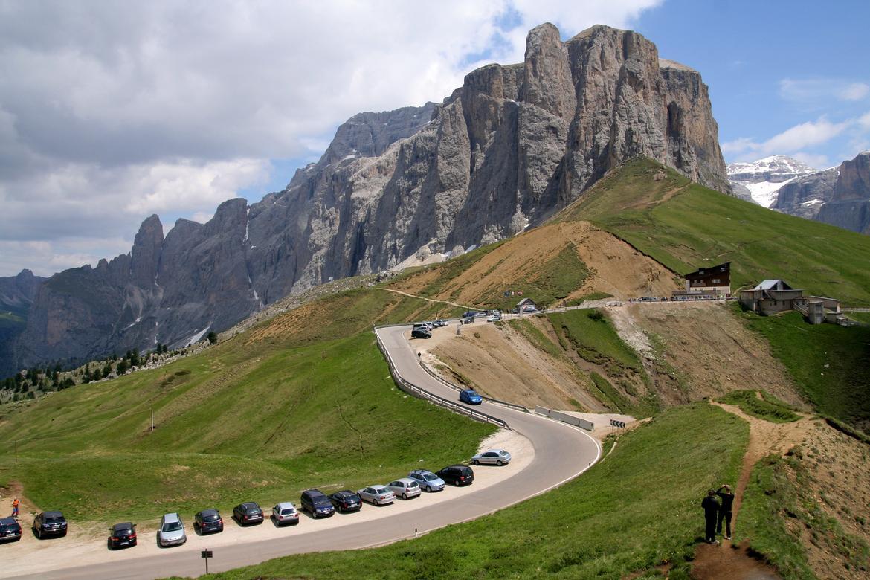 Photo of Passi dolomitici, si decide sulla limitazione del traffico del Sella