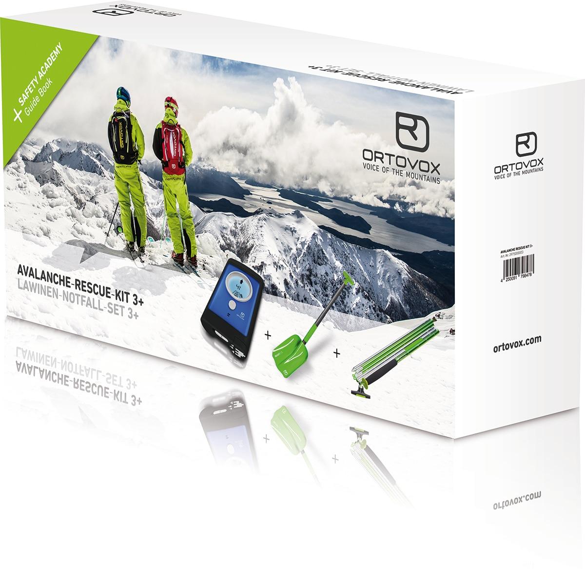 Photo of ORTOVOX AVALANCHE RESCUE SET 3+, il kit per tutti gli scialpinisti