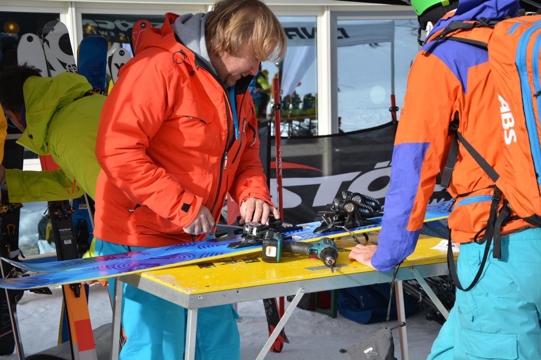 Photo of Due giorni di ski test a Solda: prove dei materiali e lezioni sulla gestione del rischio