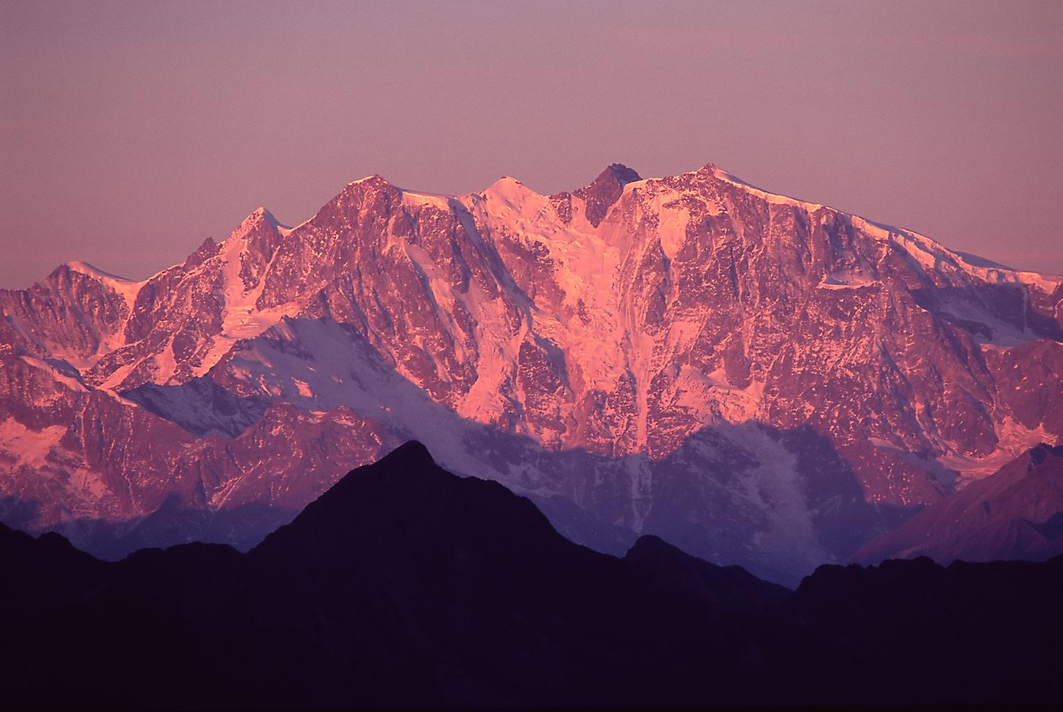 Photo of Il Monte Rosa in timelapse: che spettacolo!